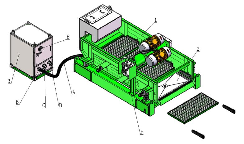 ViST Vacuum Shale Shaker